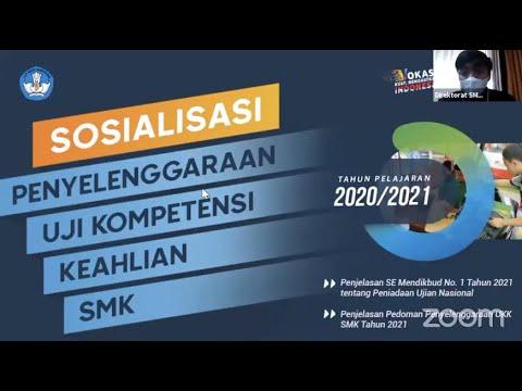 Uji Kompetensi Keahlian (UKK) SMK 2021