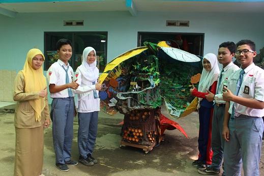 Begini Cara Siswa SMKN 6 Kota Malang Sambut Lomba Hari Lingkungan